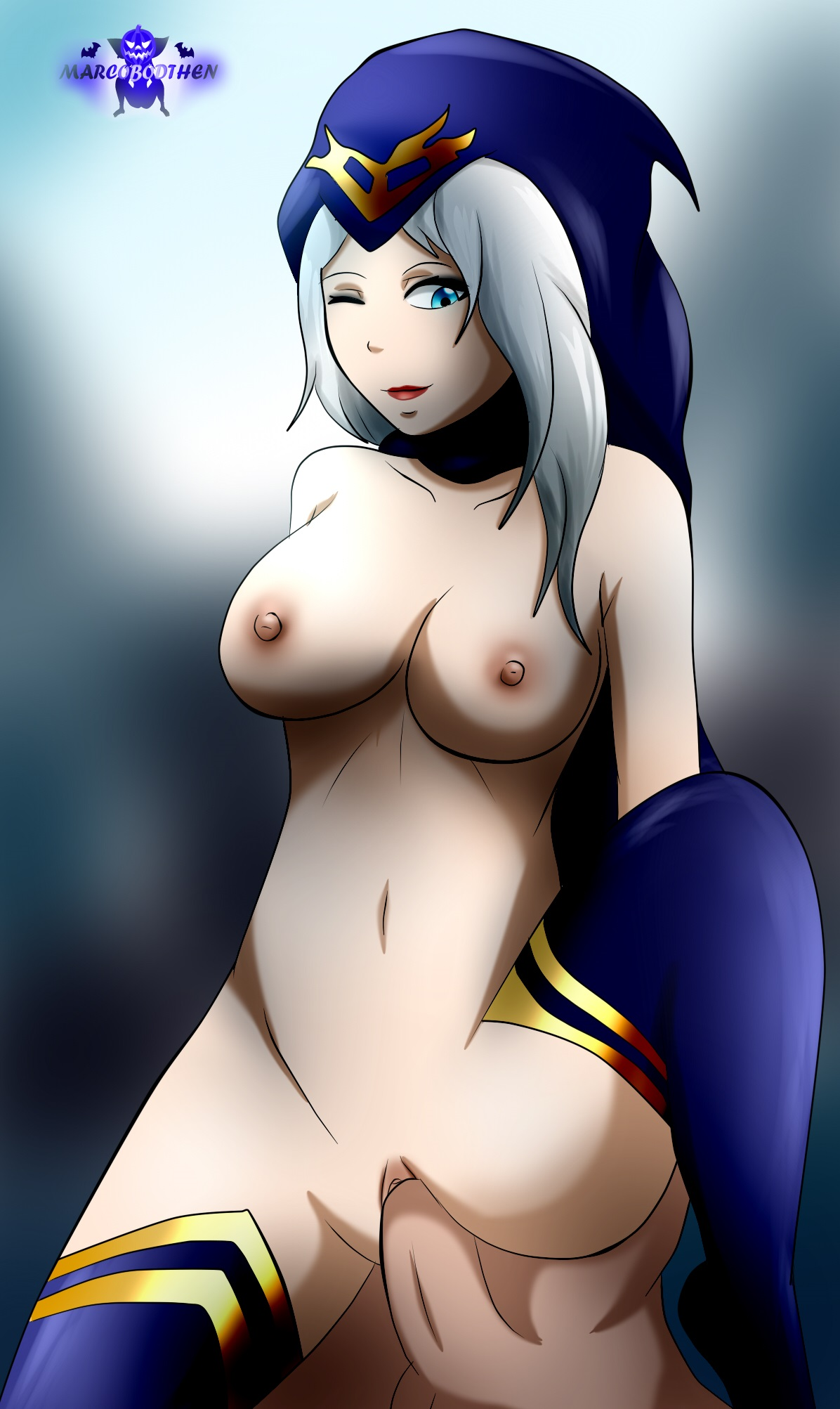 lol ashe hentai