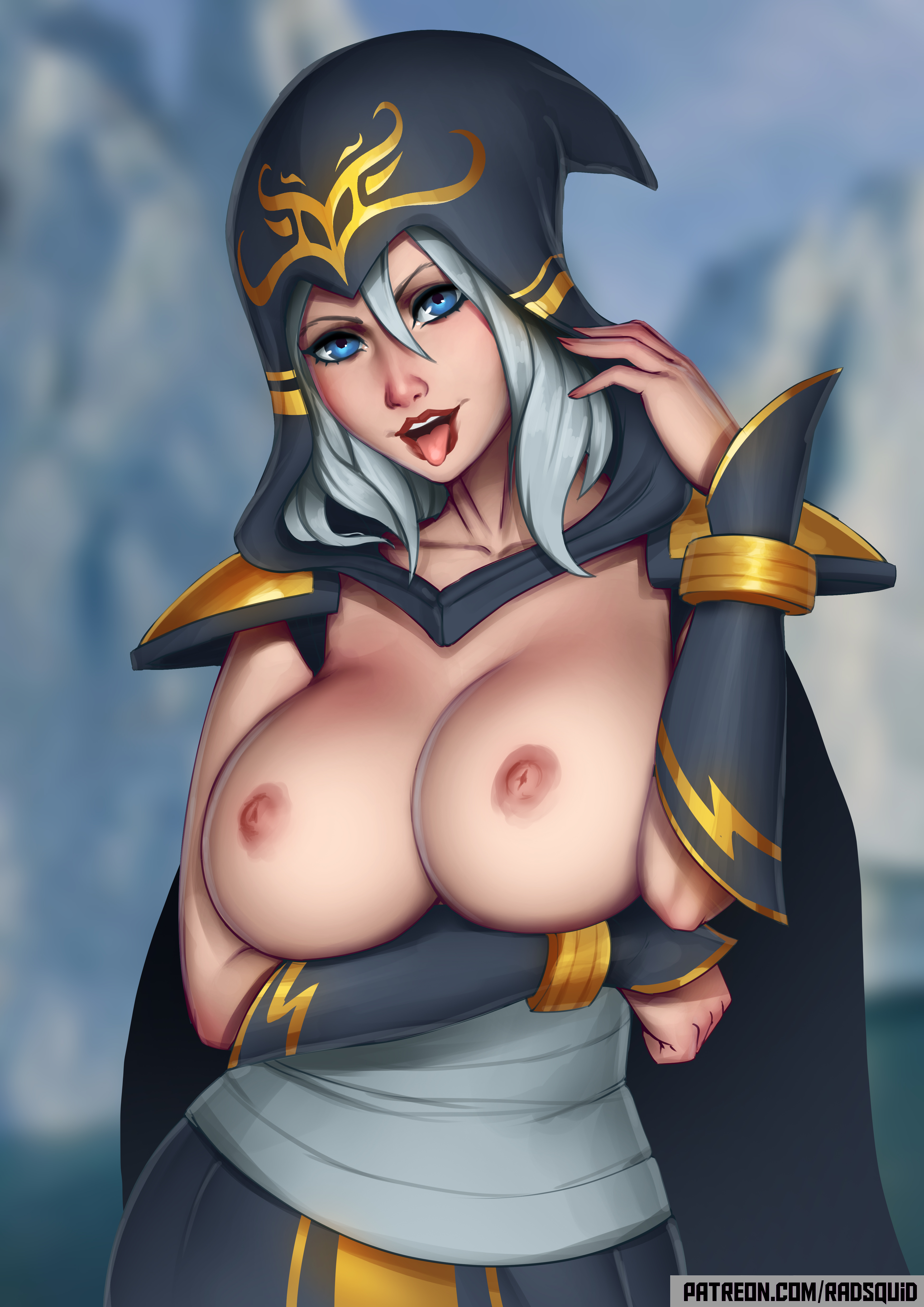 See and save as ashe overwatch porn pict