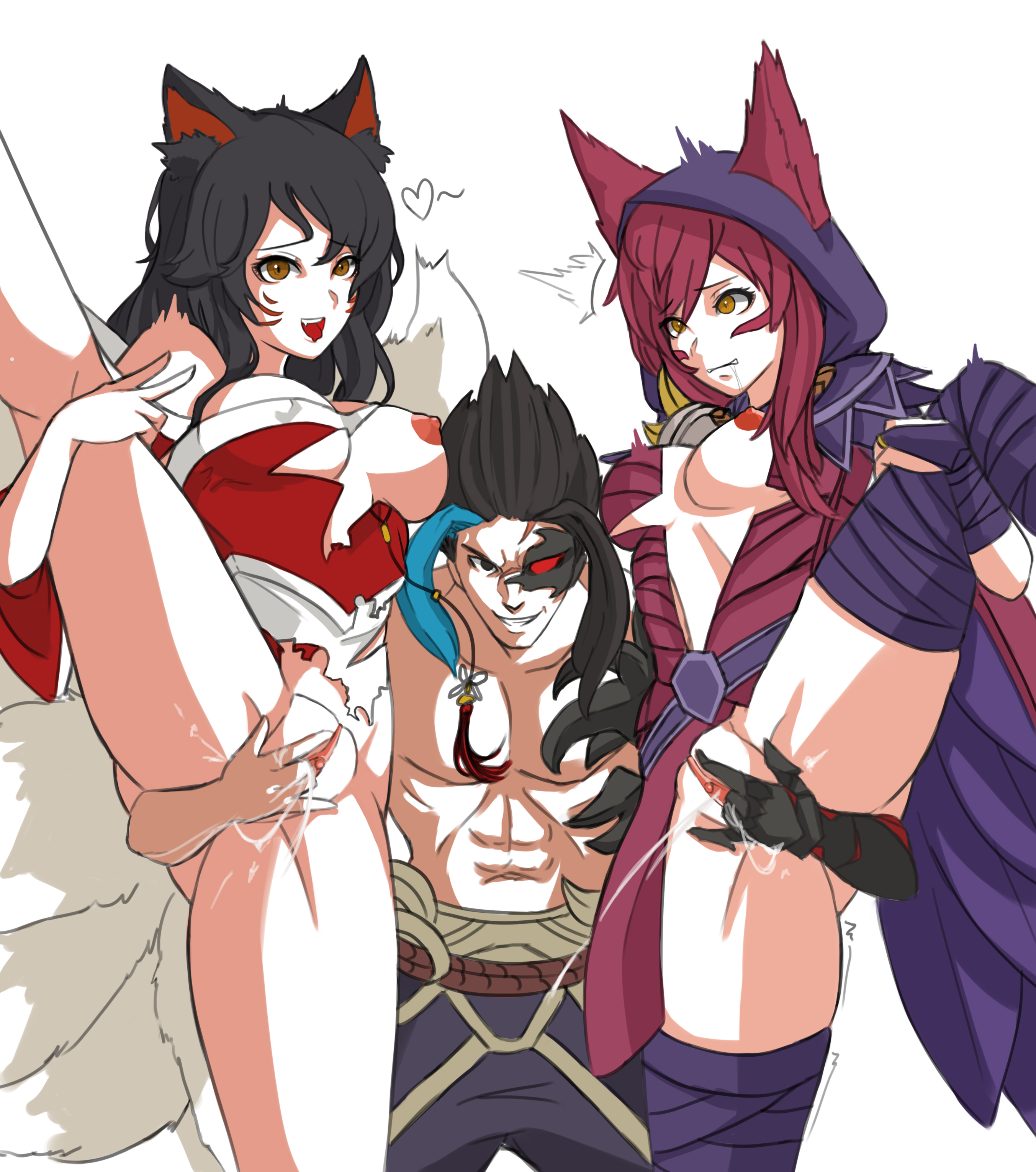 League of legends ahri rule 34